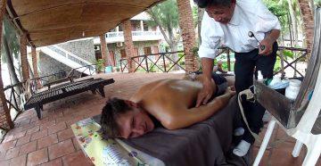 Вьетнамский массаж банками