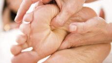 Массаж ног для женщин
