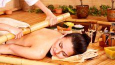 Креольский спа-массаж бамбуковыми палочками