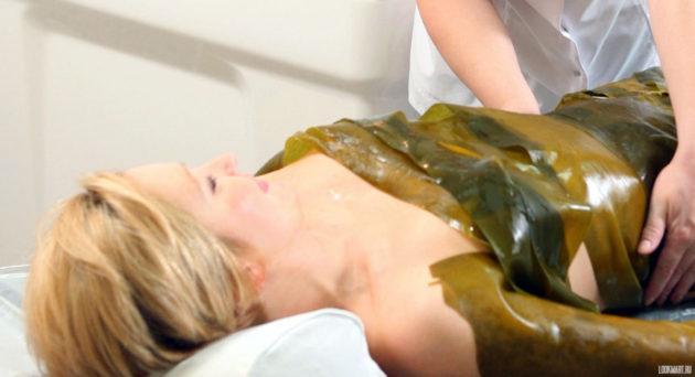 Обертывание водорослями ламинария в домашних условиях