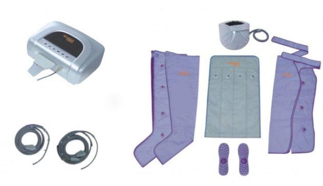 Оборудование для проведения сеансов прессотерапии