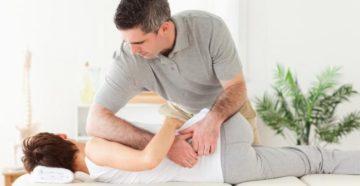 Мануальная терапия при болях в поясничном отделе