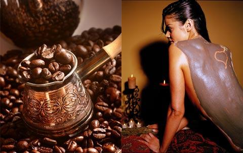 Обертывания с кофейной гущей