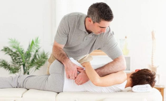 Лечебный массаж для позвоночника