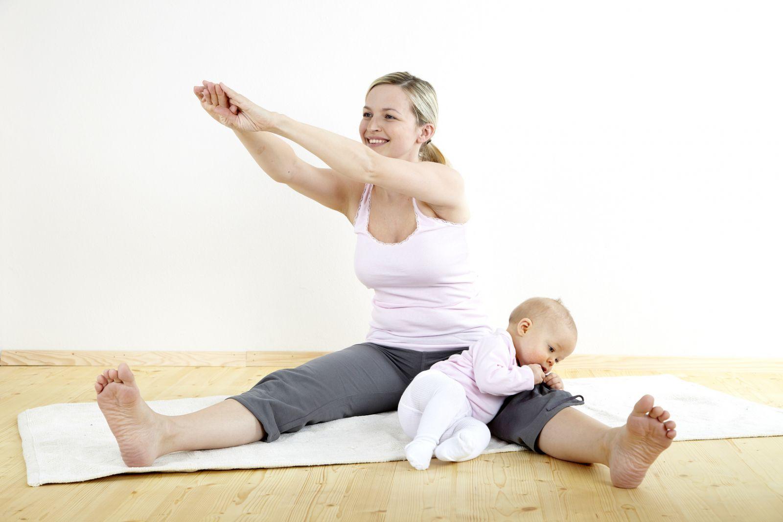 Убираем бока после беременности
