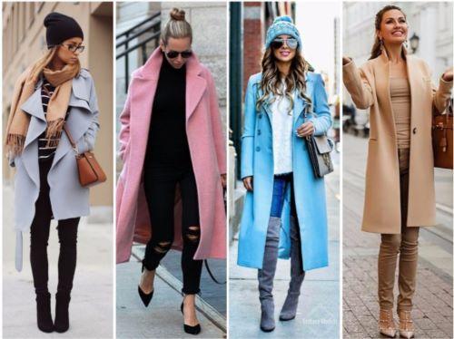 мода пальто