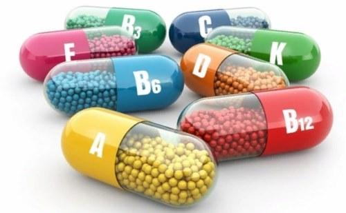 витамины таблетки