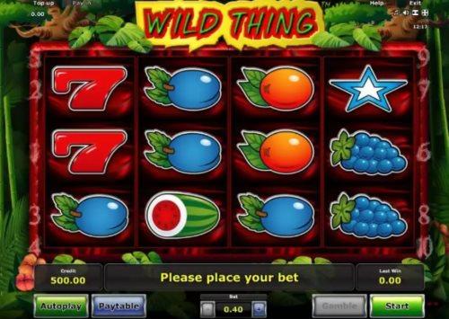 игровой автомат дикая штучка